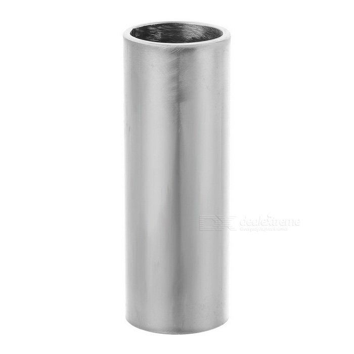 70mm Stainless Steel Guitar Finger Knuckle Slide - Silver