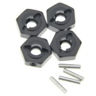 RC AXIAL 1/10 SCX10 Jeep Wrangler Conector Hexagonal 12mm - Negro