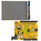 "Golden UNO R3 ATmega328P Improved Development Board + 2.8"" TFT LCD Touch Screen Shield for Arduino"