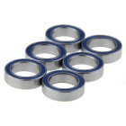 RC AXIAL 1:10 SCX10 Jeep Wrangler Bearing -Blue (10*15*4mm / 6PCS)