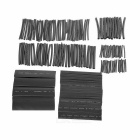 2.0~13.0mm Polyolefin Heat Shrink Tube Tubing Sleeve Set - Black (150pcs)