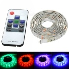 12W Flexible LED Light Strip RGB 900lm 60- 5050 SMD w/ 10-Key Remote Control - White (1m / DC 12V)
