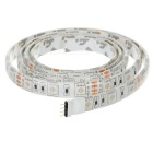 12W Flexible LED Light Strip RGB 60-SMD w/ 10 Keys Remote - White (1m)