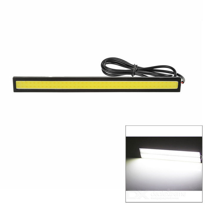 2.5W 175lm 84-LED COB Cold White Light Daytime Running Lamp (2PCS)