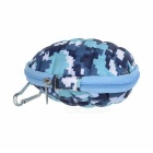 Camera Storage Carrying Case Bag for GoPro 4 Session - White + Blue