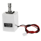 Hot Sale DC 12V Solenoid - White + Silver