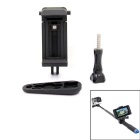 PANNOVO Cell Phone Holder Clip for GoPro / IPHONE 6 / 6S - Black
