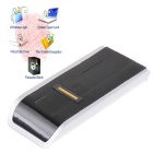 Security USB Biometric Fingerprint Reader Password Lock for Laptop PC - Black + Silver