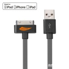 Yellowknife MFi Certified USB to 30-Pin Data Sync & Charging Cable for IPHONE / IPAD / IPOD - Grey