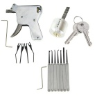 Manual Lock Opening Gun Tool + Single Hook + Bull Head Lock Kit