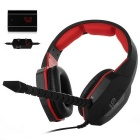 HUHD HO-939MV Optical Video Game Headset Gaming Headphone w/ Mic for Xbox 360 / PS3 / PS4 / PC / MAC