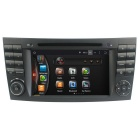 "LsqSTAR 7"" HD Android 4.4 Car DVD Player w/ GPS, Wi-Fi, Mirrorlink Canbus for Benz E CLS G W211 W219"