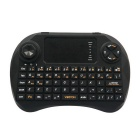 2.4GHz Mini Wireless 83-Key Keyboard Air Mouse Remote Control w/ Touchpad - Black
