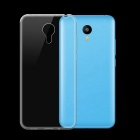 Ultra-Thin Protective TPU Back Cover Case for Meizu M2 Note - Transparent