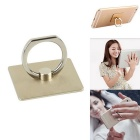 Finger Ring Style 360' Rotation Adjustable Holder Mount Stand for Phone / Tablets - Champagne Gold