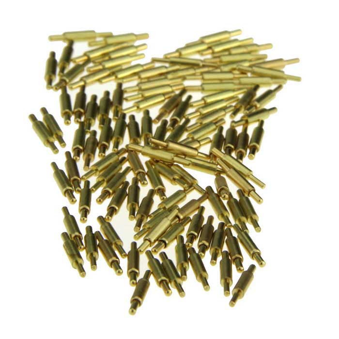 DIY 1.5mm*8.5mm Current Test Probe Pins - Golden (100PCS)