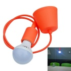 JIAWEN E27 7W LED Wall Lamp Droplight White 6500K 560lm 14-5730 SMD w/ Holder - Red (AC 85~265V)