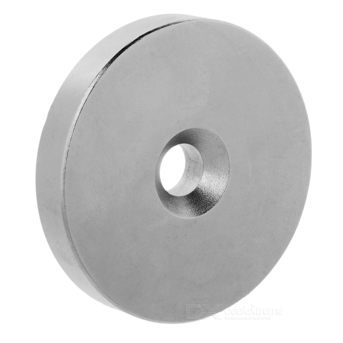 Round 60*10*10mm NdFeB Magnet - Silver