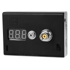 Digital VoltMeter ohm Reader Atomizer Resistance Tester - Black