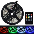 JRLED 60W LED Light Strip RGB 6000lm 300-SMD 5050 w/ Music 2.0 Controller (5M / US Plug/AC 100-240V)