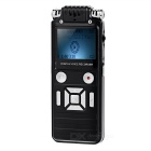 Professional Noise Cancelling Mini VOR Voice Recorder w/ MP3 Player - Black (8GB)