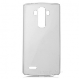 Ultra-thin Protective TPU Back Cover Case for LG G4 - Transparent