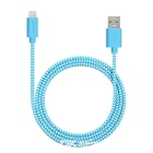 Yellowknife MFi 8pin Lightning to USB Cable for IPHONE 6 / 6S PLUS / IPAD - Blue (1m)