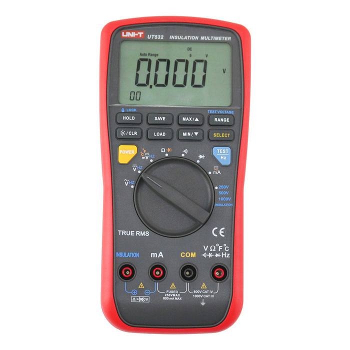 UNI-T UT532 Insulation Resistance Multimeter