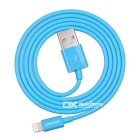 Yellowknife 8pin relámpago al cable de datos del USB - púrpura + azul (2PCS, 1m)