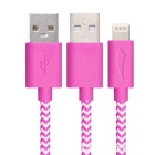 Yellowknife 8pin relâmpago para cabo USB para IPHONE 6 - roxo (1m)