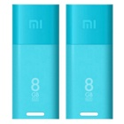 Xiaomi Portable USB 2.0 Powered Wi-Fi Access Point Adapter w/ Built-in 8GB Flash Drive - Blue (2PCS)