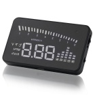 "X5 3.0"" Screen HUD Head Up Display System for Car - Black"