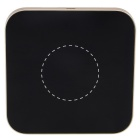 MG-P200WL Qi Standard Wireless Charging Pad w/ LED Indicator for Samsung / IPHONE - Golden