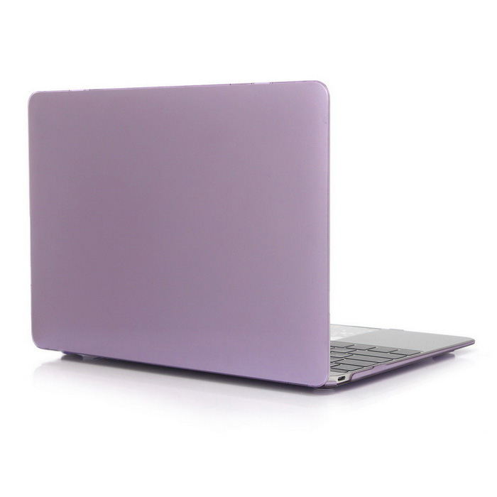 "ASLING Protective Hard PC Case for MACBOOK 12"" - Transparent Purple"