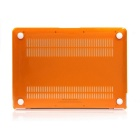 "ASLING Protective Hard PC Case for MACBOOK 12"" - Transparent Orange"