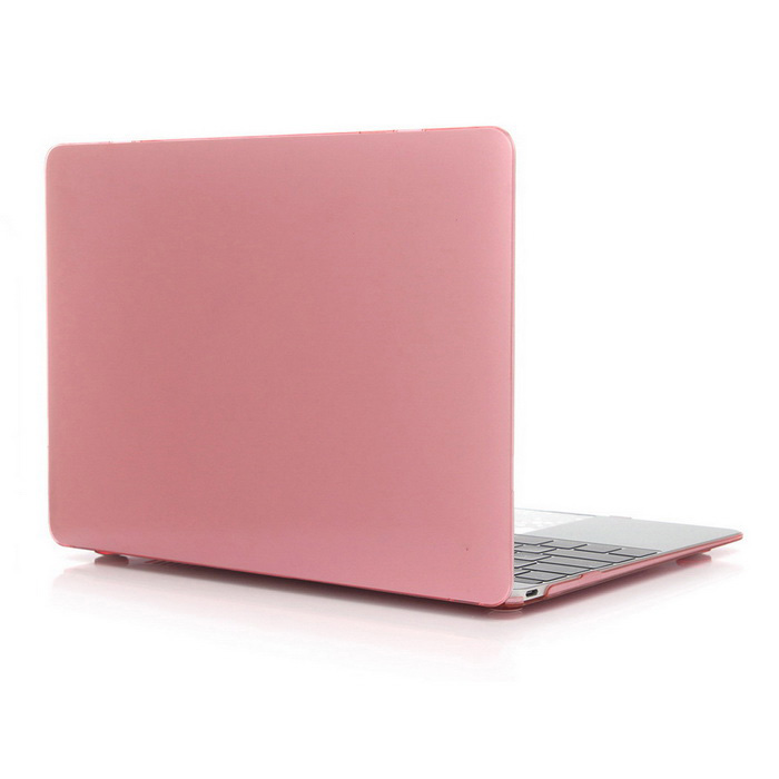 "ASLING Protective Hard PC Case for MACBOOK 12"" - Transparent Pink"