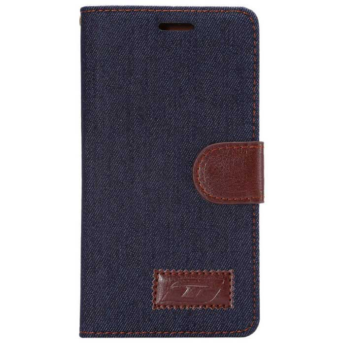 PU + TPU Magnetic Wallet Pocket Flip Case Cover w/ Stand / Card Slots for Huawei Ascend P8 - Black