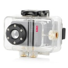 Smartron Mini 720P HD Waterproof Action Digital Video Camera - Black
