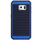 B.O.W HS006 Water-Resistant Anti-Dust Silicone Back Case for Samsung Galaxy S6 - Black + Blue