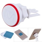 360'Angle Rotating Magnetic Car Air Vent Mount for Phone - White + Red