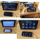 """LsqSTAR 7"""" HD Android 4.4 Car DVD Player w/ GPS WiFi AUX SWC Mirrorlink Canbus for BMW M5/E39/X5/E53"""