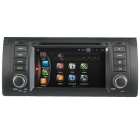 "LsqSTAR 7"" HD Android 4.4 Car DVD Player w/ GPS WiFi AUX SWC Mirrorlink Canbus for BMW M5/E39/X5/E53"