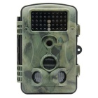 "2.4"" LCD CMOS 12MP Waterproof IR Night Vision Hunting / Trail / Security Camera - Camouflage Green"