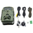 "2.4"" LCD 12MP IR Night Vision Trail Security Camera - Camouflage Green"