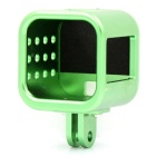PANNOVO CNC Aluminum Protector Frame Case Housing for GoPro Hero 4 Session - Green