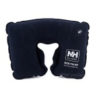 NatureHike U-Shape Air Inflatable Neck Pillow - Navy Blue