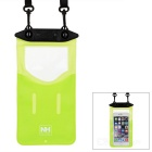 NatureHike Waterproof Diving / Swimming ABS + PVC Touch Case Bag - Green