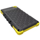 8000mAh 2-USB Solar Power Bank for IPHONE 6 / 6 PLUS + More - Yellow
