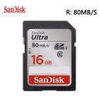 SanDisk Ultra 16GB Class 10 SDHC Memory Card Up to 80MB/s- SDSDUNC-016G [Newest Version]