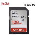 SanDisk Ultra 128GB Class 10 SDXC Memory Card Up to 80MB/s- SDSDUNC-128G [Newest Version]
